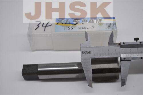 (2pcs) 34mm x 1.5 Metric Machine Tap M34 x 1.5 Left hand right hand Tap
