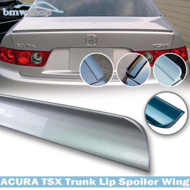 For Acura TSX 1st Sedan Trunk Lip Spoiler Wing 2004 2008