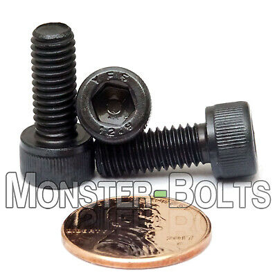 M5 x 16mm Socket Head Cap Screws 12.9 Alloy Steel Black Oxide 0.80 coarse 25 pcs