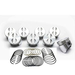 Details about Chevy 283 Sealed Power/Federal Mogul Cast Flat Top 4VR  Pistons+Rings Set/Kit +60