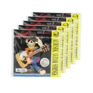 Alice-5PCS-Acoustic-Guitar-E-6th-Strings-Steel-Core-amp-Coated-Copper-Alloy-Wound