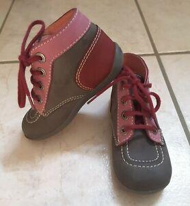 Détails sur Chaussures fille kickers Bonbon GrisRoseRose fonce