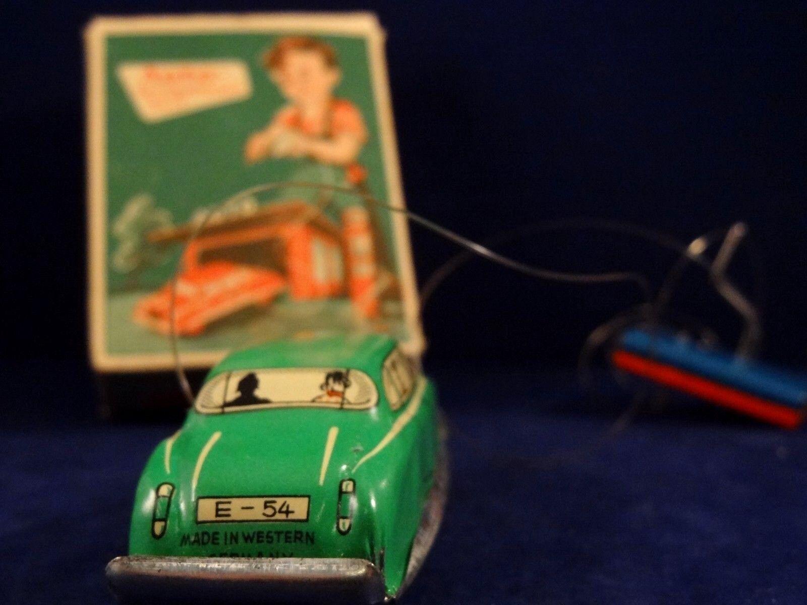 Ancien jouet voiture tôle mécanique télécomFemmedé télécomFemmedé télécomFemmedé HUKI  DISTLER  1950 W.GerFemmey | Online Shop  | Emballage élégant Et Robuste  | Valeur Formidable  c0923c