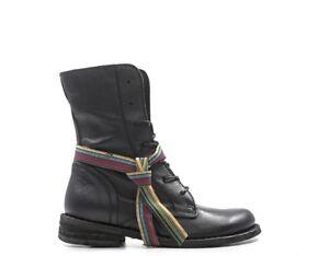 wholesale dealer 37799 2d103 Dettagli su Scarpe FELMINI Donna Tronchetti Bassi NERO Pelle naturale  8047TAR-NE