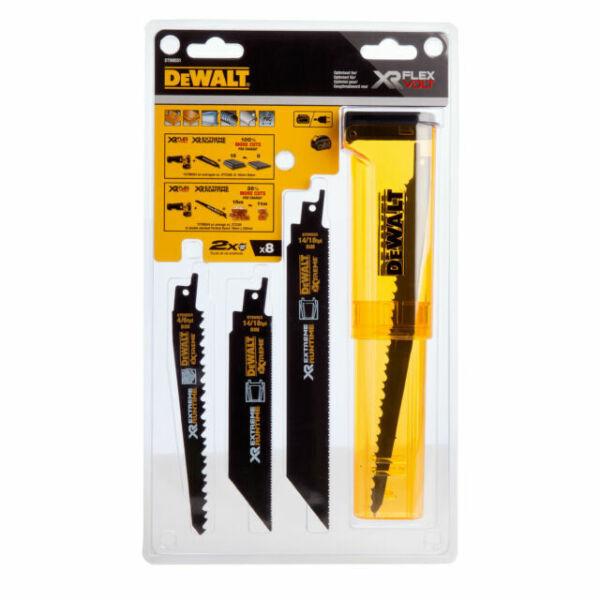 DeWalt DT99551-QZ Flexvolt Xtreme Runtime 8 piece Sabre Saw Blades