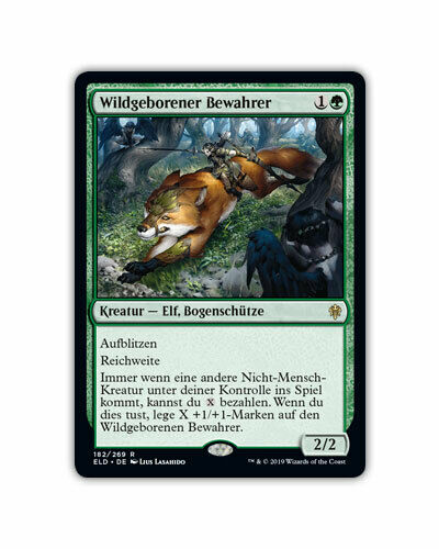 Magic The Gathering-Trône de eldraine cartes Mythic rare allemand MTG cards Presque comme neuf