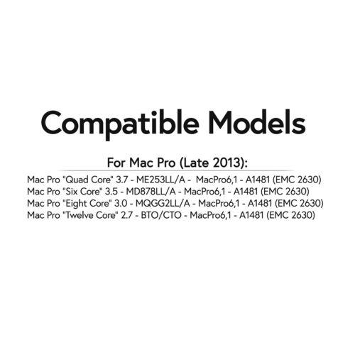 64GB KIT 4X 16GB PC3-14900 ME253LL//A ECC REGISTERED APPLE Mac Pro MEMORY RAM