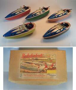 MS-Michael-Seidel-Raketenboot-MS-707-Dampf-Ruckstoss-Handlerbox-m-10-Stuck-1948
