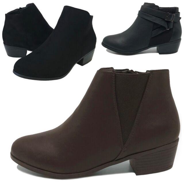 Women SMP Black Tan Western Ankle
