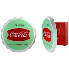 Coca Cola: Fischschwanz Logo Holz Schlüsselschrank Mit 8 Schlüsselhaken &