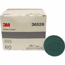 3m 36526 2 60 Grit Green Corps Roloc Grinding Discs Replacement For 3m 01397