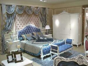 Détails sur Penderie Chambre à Coucher E36 Bois Armoire Style Antique  Baroque Rokoko