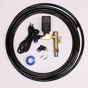 1pc Air Compressor Drain W Timer Amp Install Kit Tank Drain