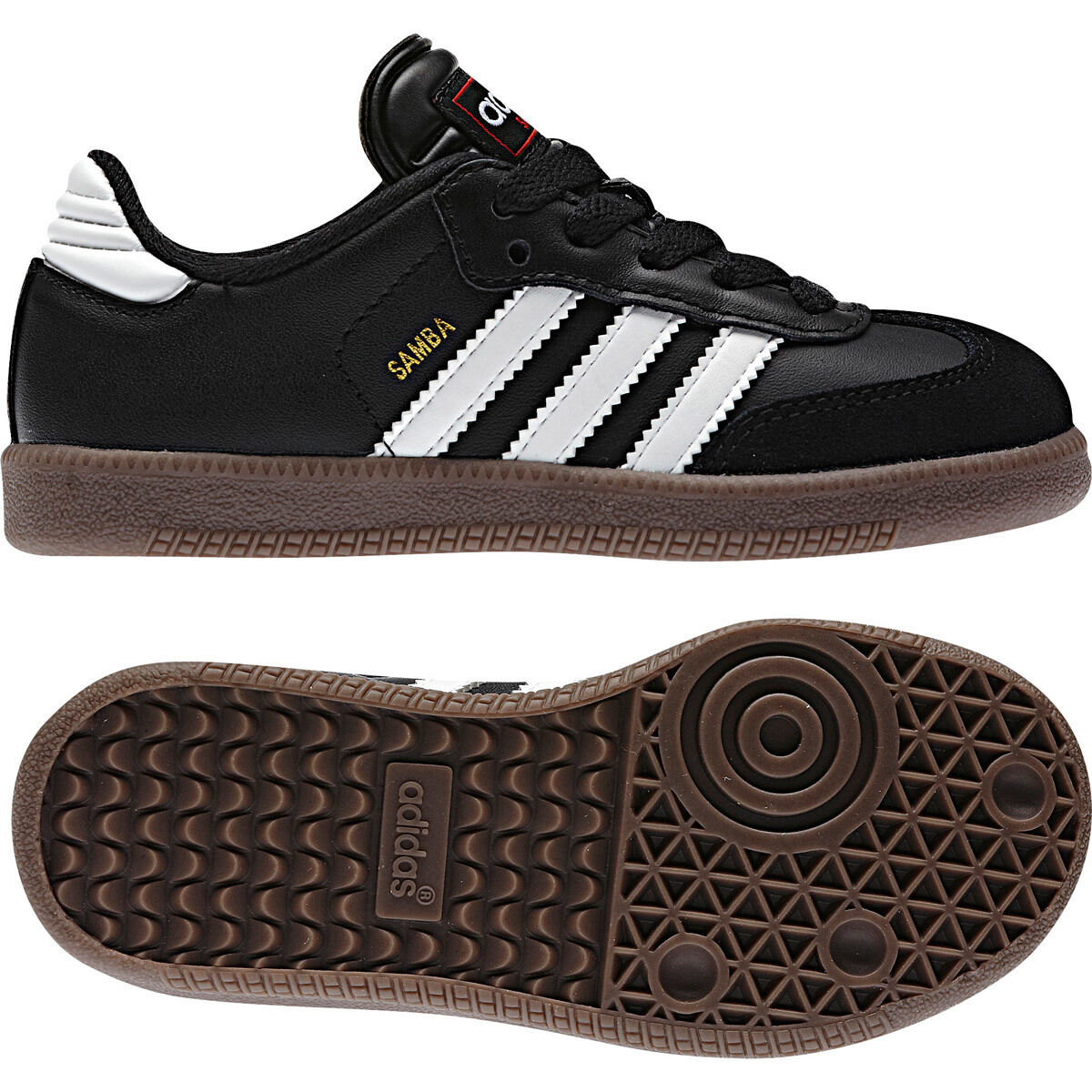 Adidas Samba Clásico Negro Talla 8 Nuevo