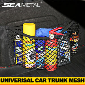 Car Trunk Rear Cargo Organizer Back Seat Storage Elastic Mesh Net Pocket Bag Hot