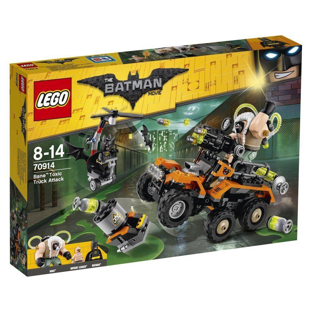LEGO - 70914 - Batuomo Movie L'attacco tossico costruzioni  mattoncini originali  confortevole