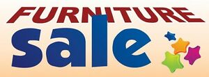 3ft x 8ft Furniture Sale (lpbp) Vinyl Banner -Alt to Banner Flag 3'x8' (0044)