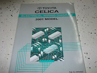 2001    Toyota       CELICA    Electrical Wiring    Diagram       Service       Shop