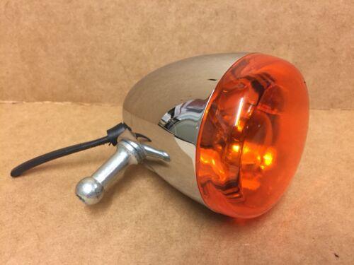 Genuine Harley-Davidson Front Indicator Turn Signal Chrome Single 68975-00