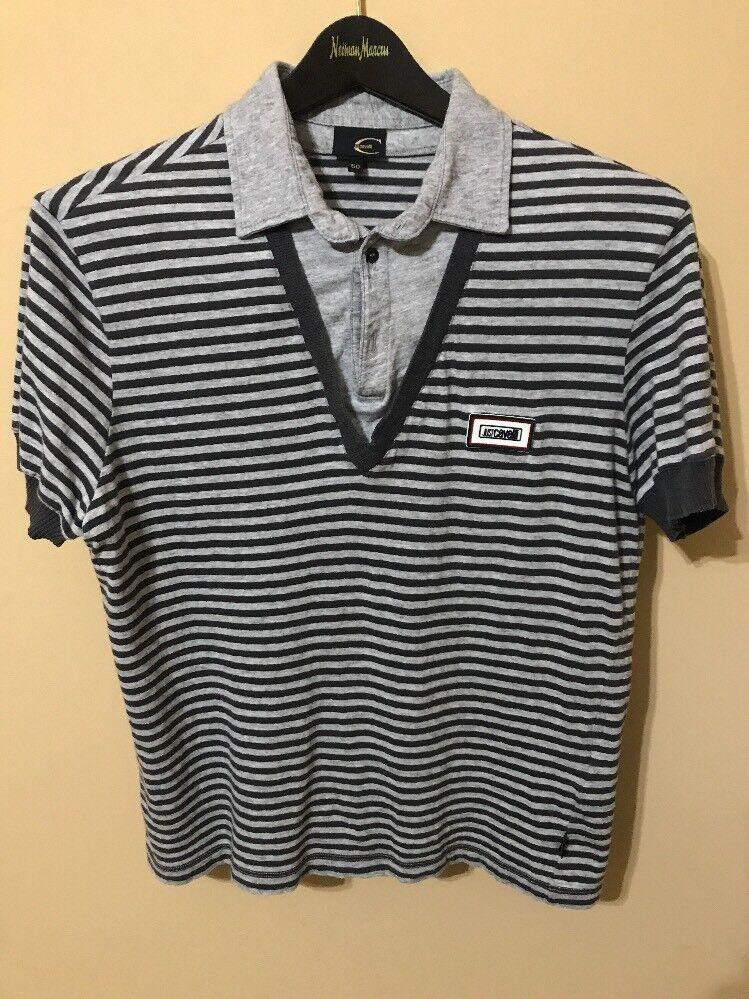 Just Cavalli Man's Polo Shirt. Size