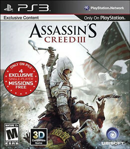Assassin-039-s-Creed-III-Gamestop-Edition-PS3-Sony-PlayStation-3-2012-NEW