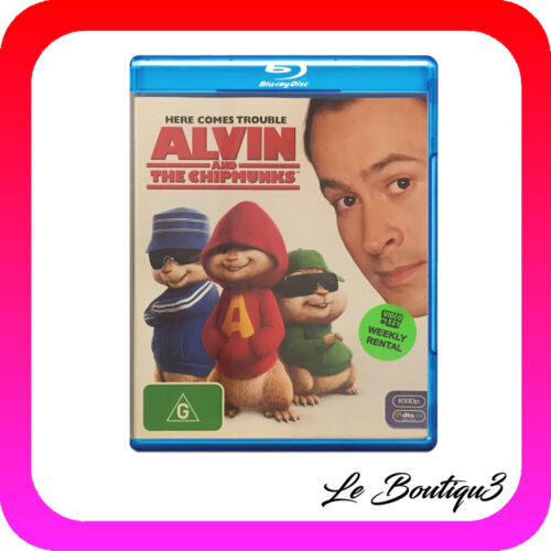 1 of 1 - Alvin And The Chipmunks (Blu-ray, 2008) EX-RENTAL