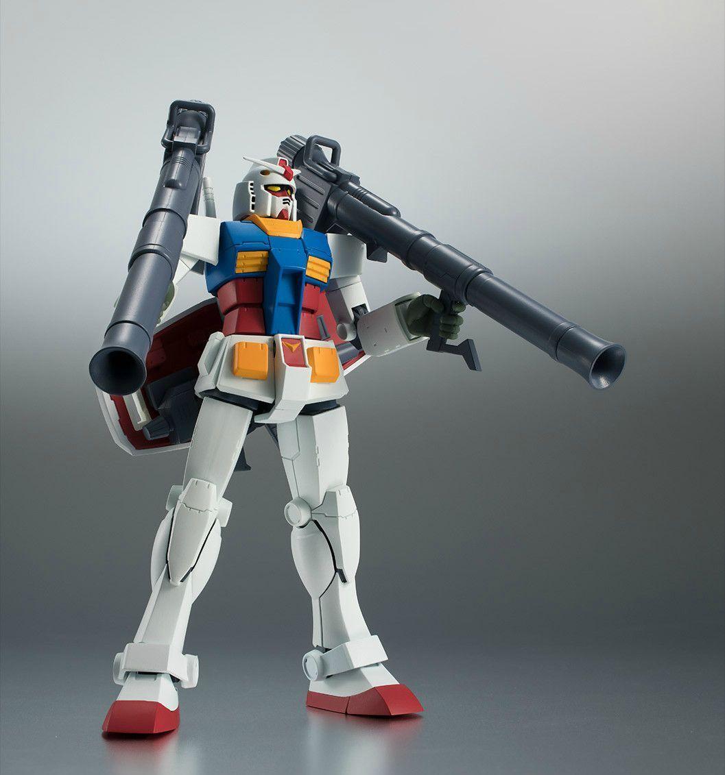 Robot Spirits Side Ms RX-78-2 Gundam Versión A. N. I. M. E. Final Basize
