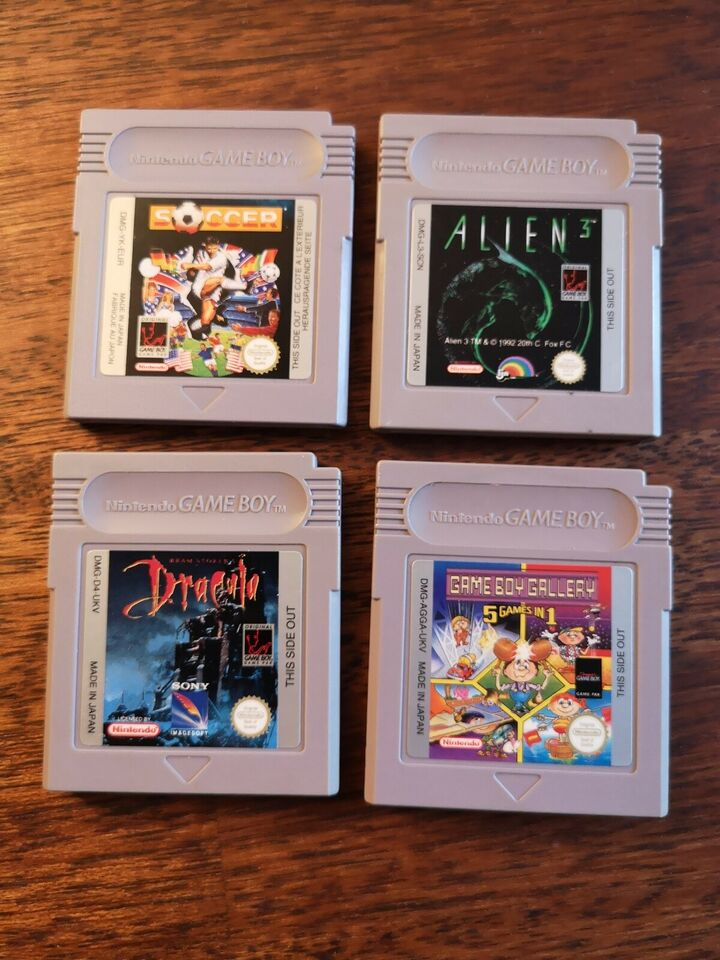 Dracula, Gameboy, action