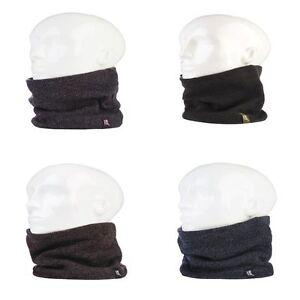 Heat-Holders-Homme-chaud-hiver-polaire-fourre-echarpe-cache-cou-thermique
