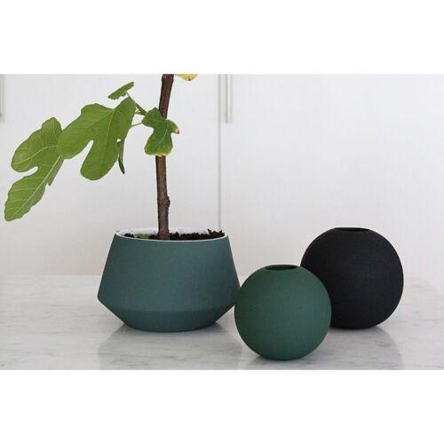 10cm Cooee Design Vase Ball Dark Green