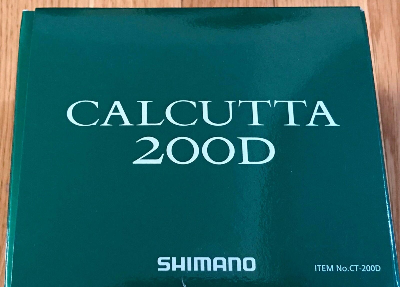 SHIMANO CALCUTTA D CT-200D 5.7 1 Gear Ratio Right Hand Caitcast Fishing Reel NEW