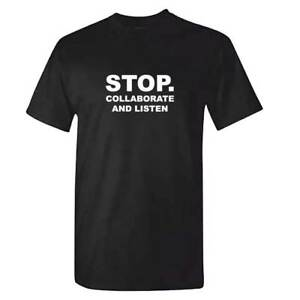 Stop-Collaborate-And-Listen-T-Shirt-Vanilla-Ice-Tshirt-Old-School-Rap-Funny-CD