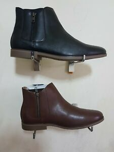 EX-M-amp-S-CO-BLACK-LEATHER-CHELSEA-ANKLE-BOOTS-SIZE-UK-7-12