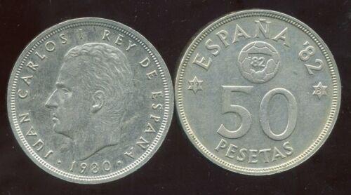 SPAIN  ESPAGNE  50 pesetas 1980 etat 81