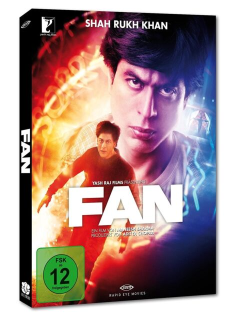 FAN (Shah Rukh Khan) LTD Edition, Bollywood Blu-ray Disc + DVD NEU + OVP!
