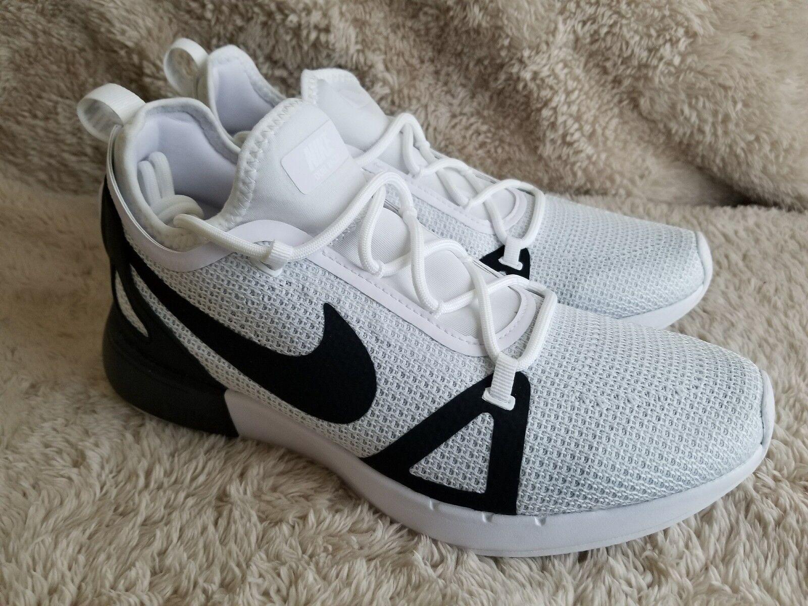 best service 5d4e9 f2a42 ... Nike Duel Racer 918228-102 White Black Platinum Men s Sportswear  Sportswear Sportswear Running shoes 47d3ea ...