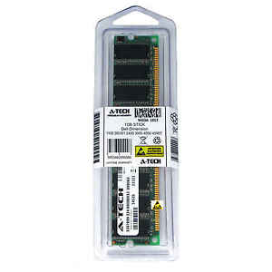 1GB-DIMM-Dell-Dimension-1100-DE051-2400-3000-4550-4590T-4600-4600C-Ram-Memory