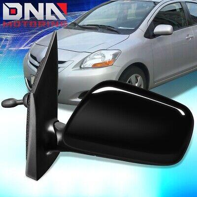 Manual Remote Mirror For 2007-2012 Toyota Yaris Sedan Driver Side