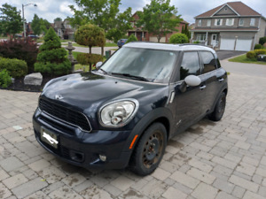 2014 Mini Cooper S Countryman All4 Low Kms