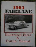 1964 Ford Fairlane Feature Spec Manual