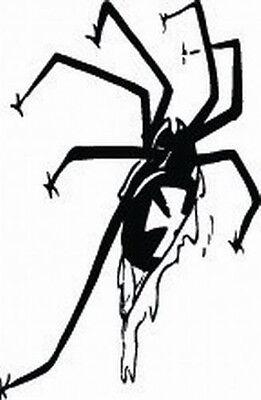 SPIDER WEB #48 DECAL VINYL GRAPHIC CAR TRUCK  SUV VAN CROSS OVER VEHICLE CREEPY