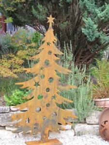 Ebay Weihnachtsdeko.Edelrost Tannenbaum 180 Cm Weihnachtsbaum Metall Christbaum