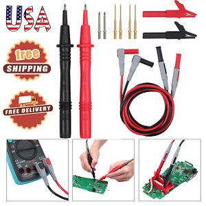 12-in-1-SET-Multimeter-Test-Lead-Kit-Probe-Alligator-Clips-for-Fluke-Meter-Power