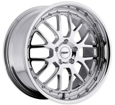 20x8.5 TSW Valencia 5x120 Rims +35 Chrome Rims Fits e46 e90 e92 e60 Awd only