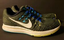 new style a37ad af2d9 item 4 Mens Size 9.5 Nike Air Zoom Structure 19 Running Shoe  Black Volt Blue 806580-010 -Mens Size 9.5 Nike Air Zoom Structure 19  Running Shoe ...