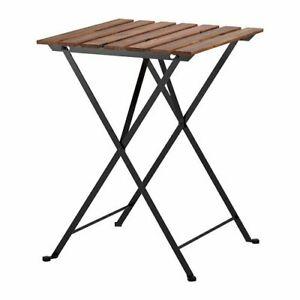 Sedie E Tavoli Da Esterno Ikea.Ikea Tavolo Pieghevole Tarno Da Giardino In Acacia Massiccio E
