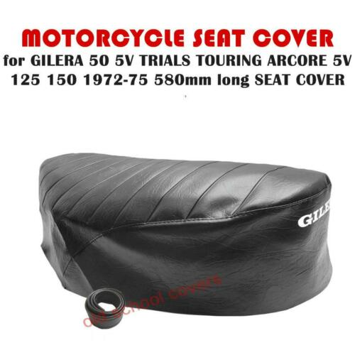GILERA 50 5V TRIALS TOURING ARCORE 5V 125 150 1972-75 SEAT COVER 580mm long