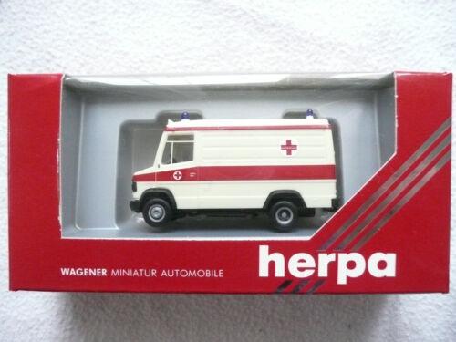 Herpa 4121 Mercedes Benz  Sprinter Krankenwagen  Maßstab 1:87