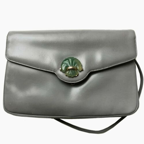 Judith Leiber Bonwit Teller Leather Clutch Evening