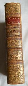 1745 CONTINUATIO PRAELECTIONUM T3 THEOLOGICARUM HONORATI TOURNELY BE CUIR